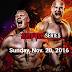 Survivor Series 2016: Confira o card completo do Pay-Per-View de hoje!