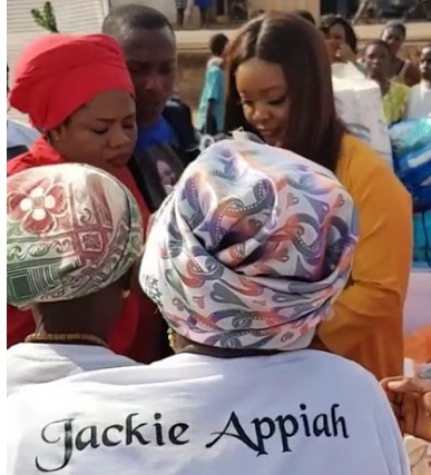 jackie appiah cash widows accra