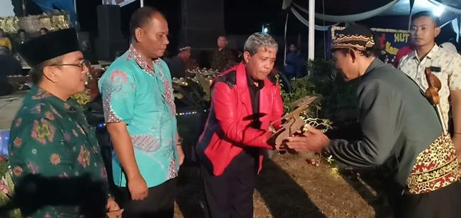 Peringati HUT ke-54 Tahun, Aparatur  Kampung Poncowati Berjanji Bersinergi Dengan Pemkab Lamteng
