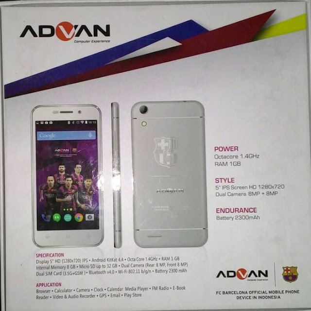 Firmware Advan Barca 5 S5Q Scatter File