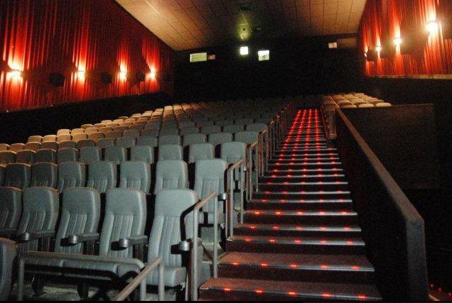 Cinema Centerplex Barretos-SP - Sala de Exibição de Filmes