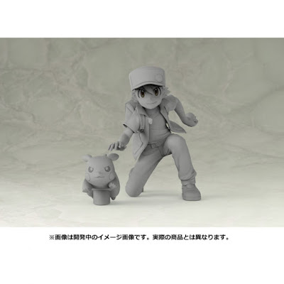 """Figuras: Galería de fotos de Red y Pikachu de """"Pokemon"""" - Kotobukiya"""