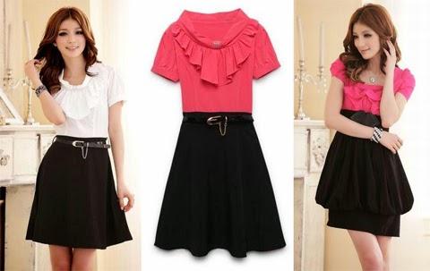 Gambar Model Baju Dress Terbaru