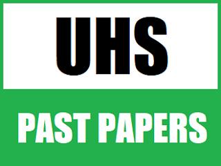 MCAT UHS Unit Wise Past Papers (2008-2016) in one pdf - EducatedZone
