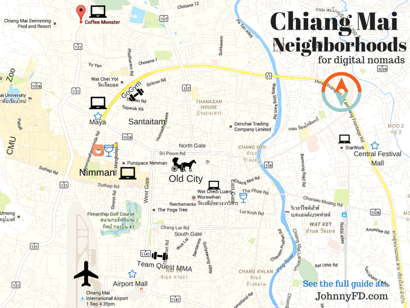 Johnny's Guide to Chiang Mai, Thailand for Digital Nomads