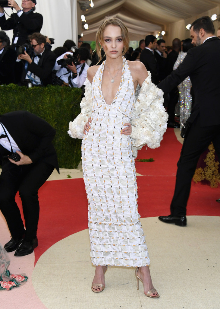 Lily-Rose Depp at the 2016 MET Gala