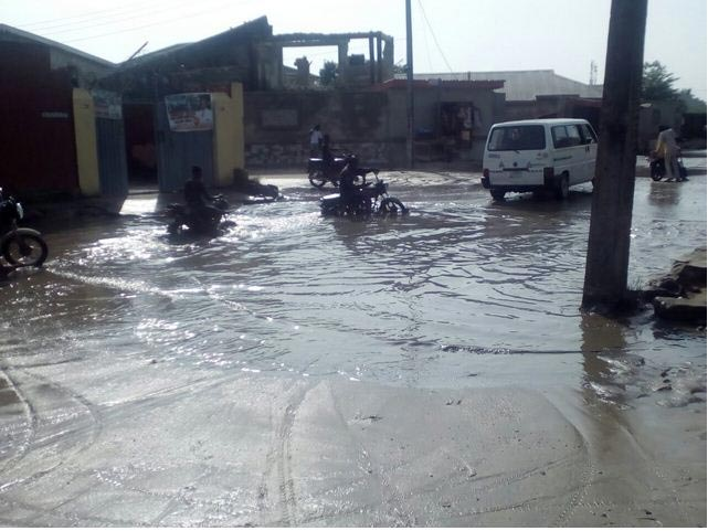 Choi! More photos of Ajah, Lagos after heavy rainfall