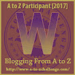 W is for Willoughby the Narrator #AtoZChallenge