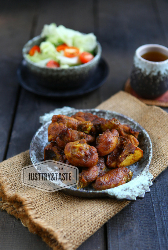 Resep Roasted Spicy Chicken