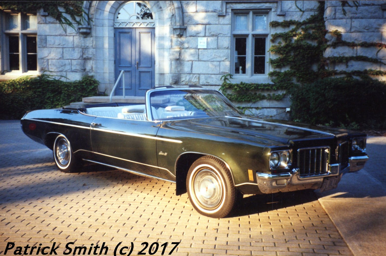 1971 Oldsmobile Delta 88 Convertible Phscollectorcarworld 1960 Pontiac Catalina Wiring Diagrams Bill Restored The Car Close To Stock Condition A Few Minor Changes Were Made For Driving Enjoyment