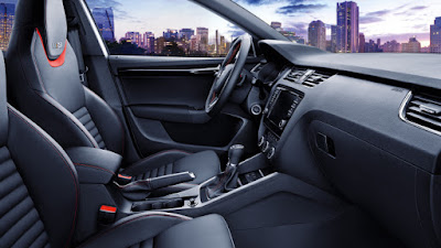 New 2017 Skoda Octavia vRS interior Hd Pose