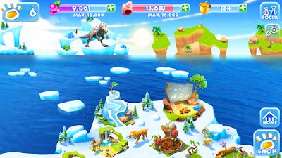 تحميل لعبة ice age 4, تحميل لعبة ice age village مهكرة للاندرويد, لعبة مغامرات Ice Age