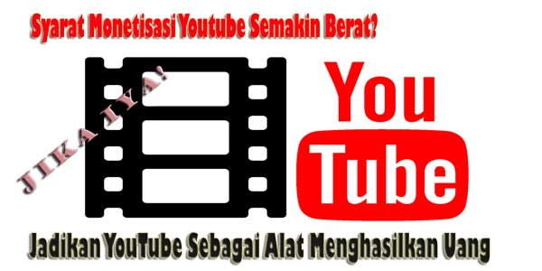 Jadikan YouTube sebagai Alat Untuk Menghasilkan Uang