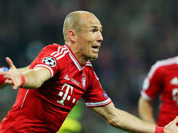 Gambar Arjen Robben_The Man of Glass, si manusia kaca