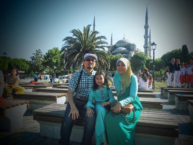 Aidilfitri Di Istanbul 2015