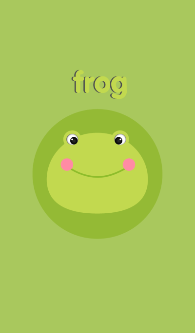 Simple Cute Frog theme