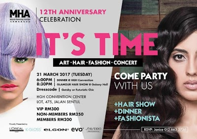 IT'S TIME - The Biggest Hair Show and Fashiontainment Extravaganza in Malaysia