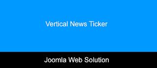Vertical News Ticker