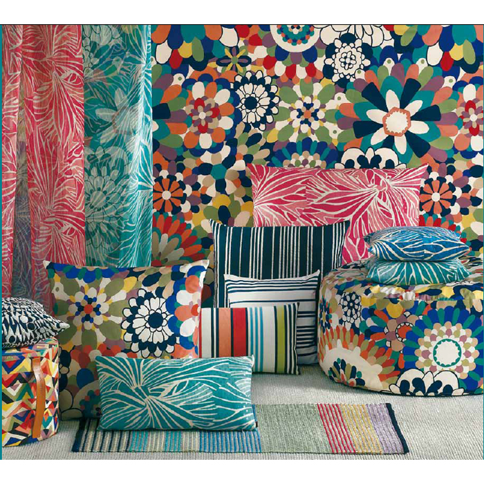 Here Are Just A Few Of The Amazing Fabrics Presented By Missoni Home So Vibrant And Hy As Things Should Be While You Re Lounging Those Warm