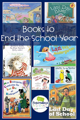 End of the Year Student Gifts, activities and book list