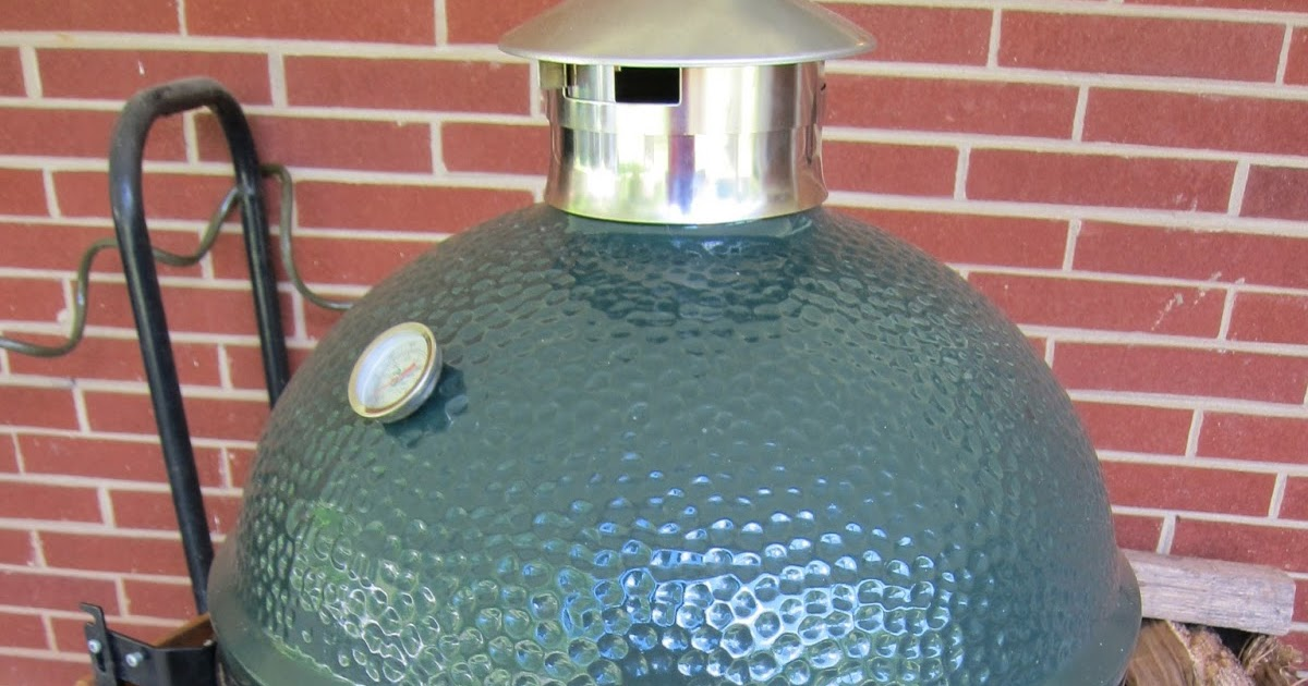 Barbecue Master Big Green Egg Stainless Steel Vent Cap