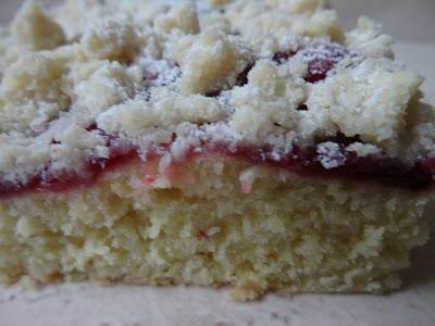 Ciasto drożdżowe z powidłami