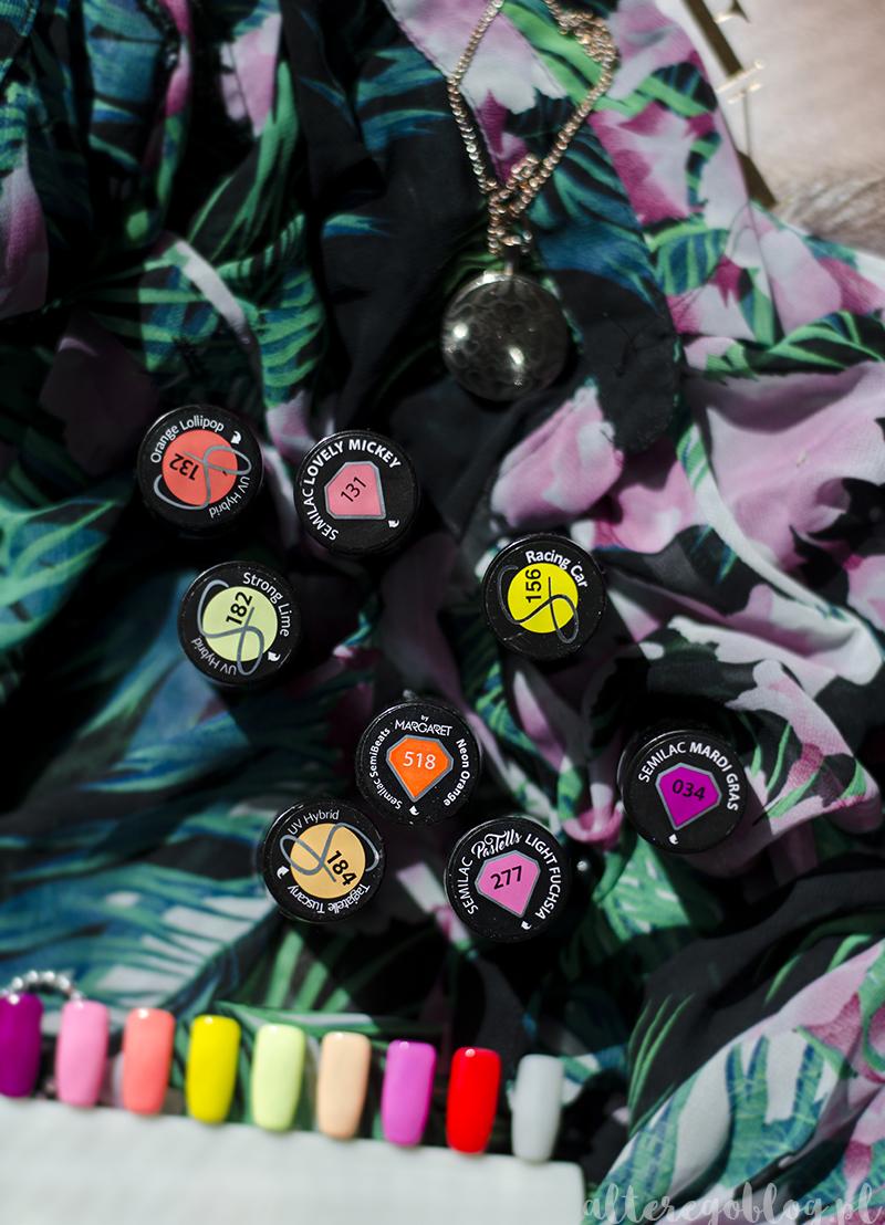 semilac kolory na lato