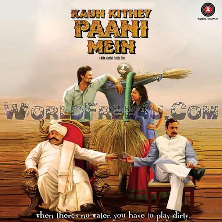 Cover Of Kaun Kitney Paani Mein (2015) Hindi Movie Mp3 Songs Free Download Listen Online At worldfree4u.com