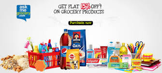 Ask Me Grocery Offer : Flat Rs.150 off + Extra 15% off mobikwik cashback on purchase of Rs.1500