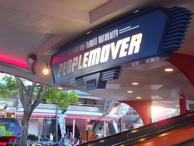 Peoplemover Magic Kingdom Walt Disney World