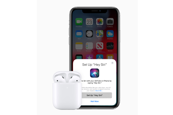 "APPLE intros second generation AirPods with Wireless charging case, Hands-free ""Hey Siri"" support and H1 Chip"