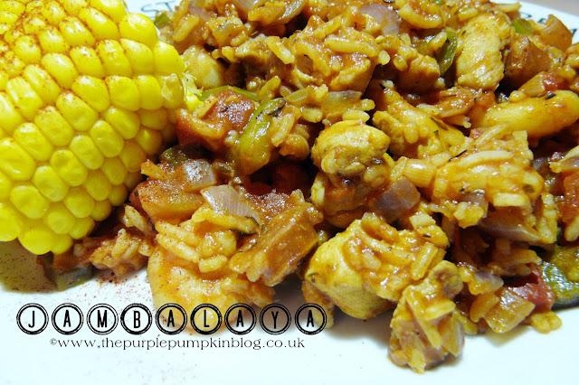 Jambalaya Recipe   The Purple Pumpkin Blog