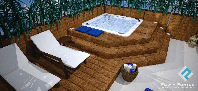 Chuva na piscina - 5 10