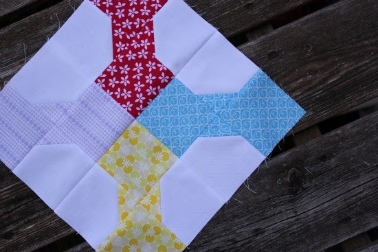 Canoe Ridge Creations Bow Tie Block A Tutorial