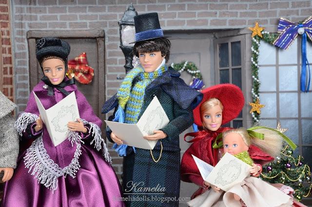 Handmade clothes for Barbie dolls.