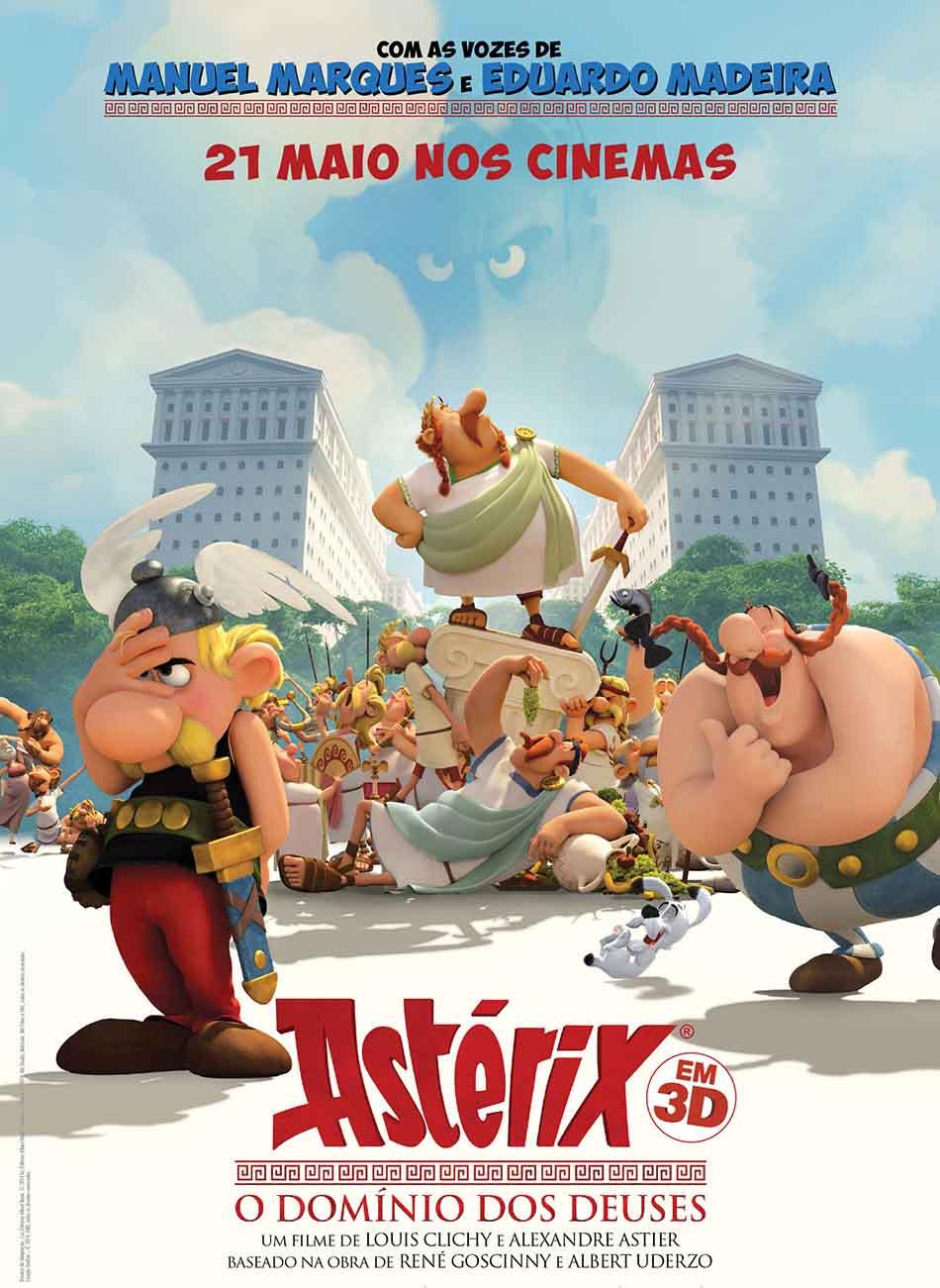 Asterix e o Domínio dos Deuses Torrent - BluRay 720p e 1080p Dublado (2016)