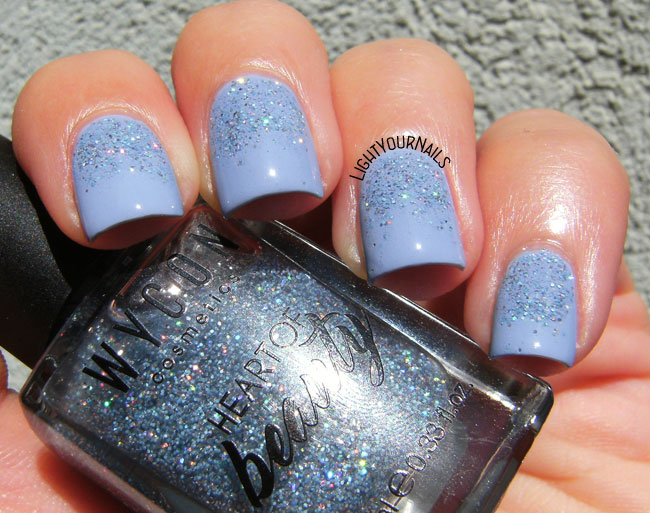 Wycon Serenity Flash and Glitter gradient