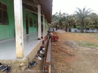 Pembangunan Halaman Sekolahan Mts Miftahussalam
