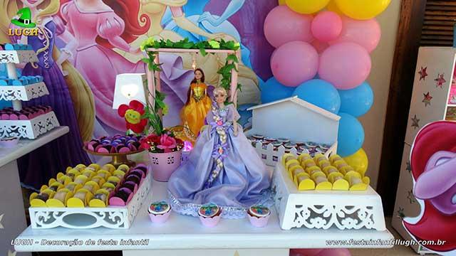 Decoração infantil festa Princesas Disney - Aniversário