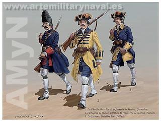 Comprar lámina soldados Blas de Lezo 13