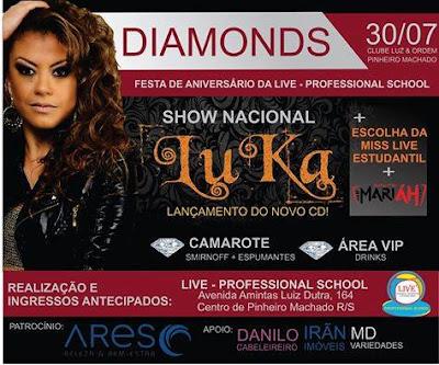 FESTA DIAMONDS - ANIVERSÁRIO LIVE