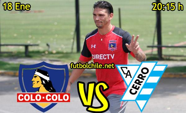 Ver stream hd youtube facebook movil android ios iphone table ipad windows mac linux resultado en vivo, online:  Colo Colo vs Atlético Cerro