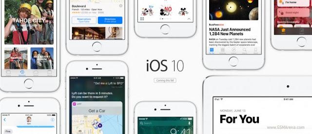Apple rilis versi beta iOS 10 dan MacOS Sierra untuk umum