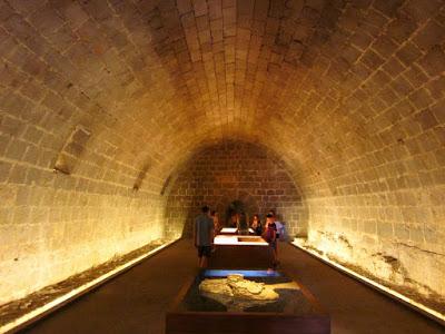 Caballerizas del castillo de Peñiscola