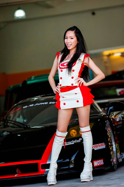 Malaysian Super GT Queen Julie Tan
