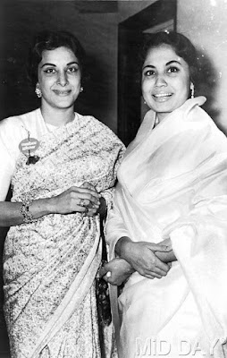Well, these two legendary heroines of the 50s have made a remarkable job in Indian Cinema, Nargis, and Meena Kumari!