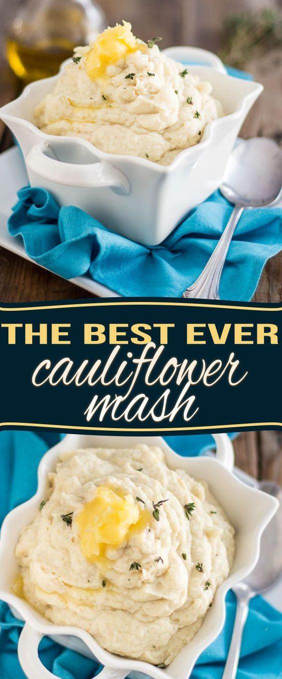 THE BEST CAULIFLOWER MASH EVER