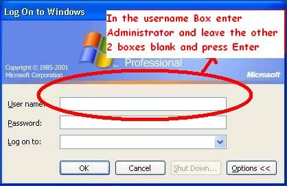 Techie Tricks & Tips: How to Hack Administrator Account
