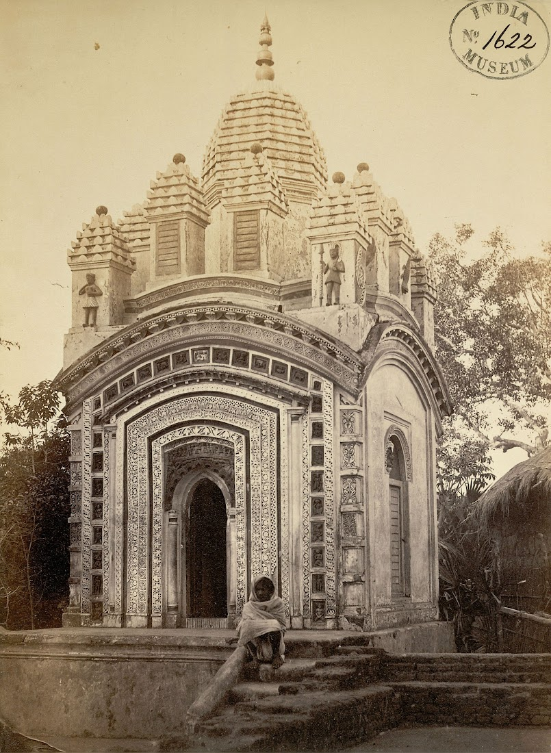 A Shiva Temple in Dubrajpur, Birbhum District, Bengal - 1870