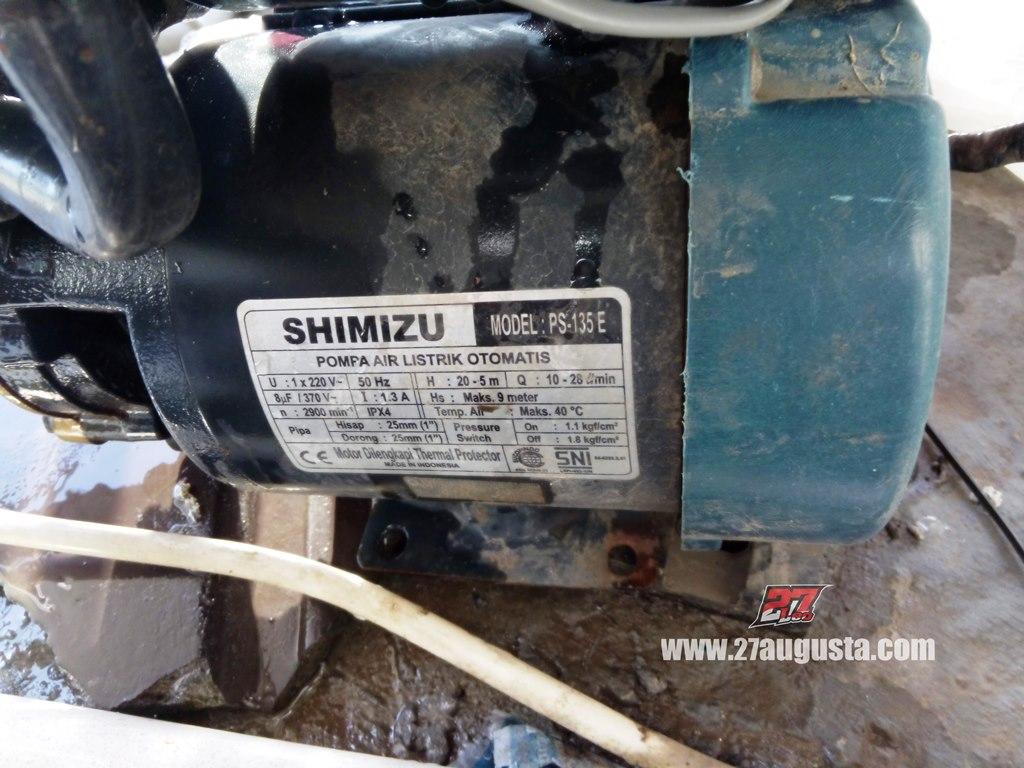 27augusta Com Pompa Air Booster Shimizu Ps 135 E Otomatis Bermasalah Cara Menangulangi Nya